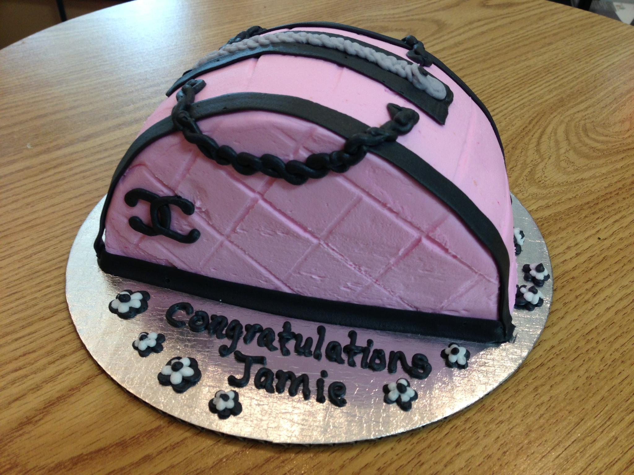 Purse Shaped Cake