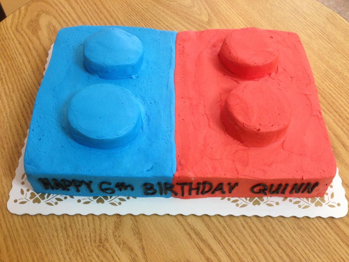 Building Blocks Cake