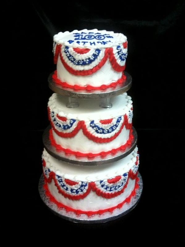 Patriotic 100th Birthday