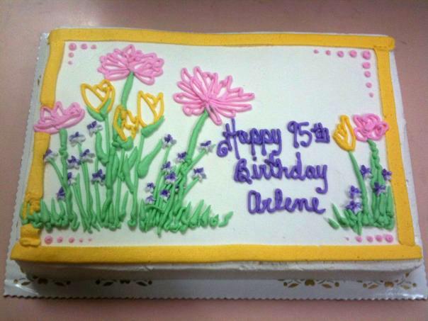 2-D Pastel Wildflowers
