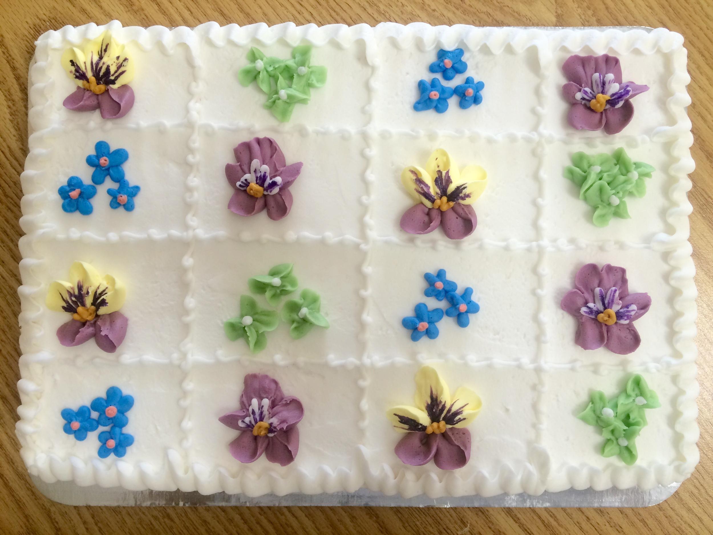 Pansies & Flowers, Scored