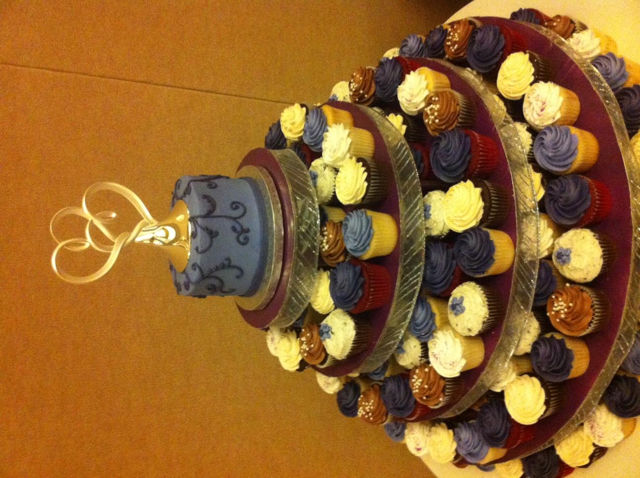 Eggplant Cupcakes