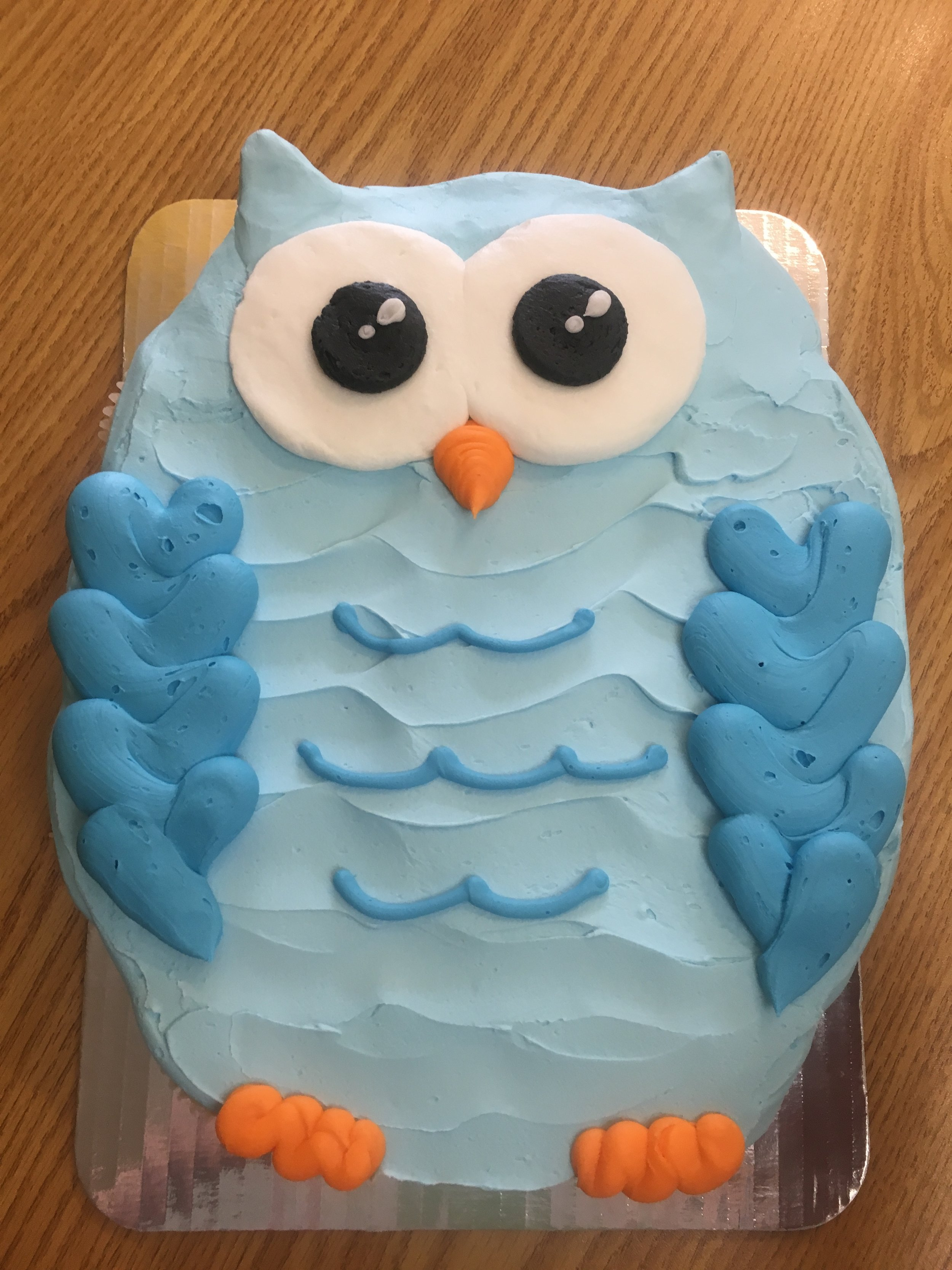 Owl out of Cupcakes