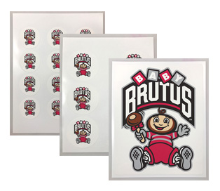 OSU Baby Brutus Edible Images