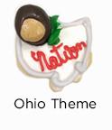 Ohio Theme Cookies