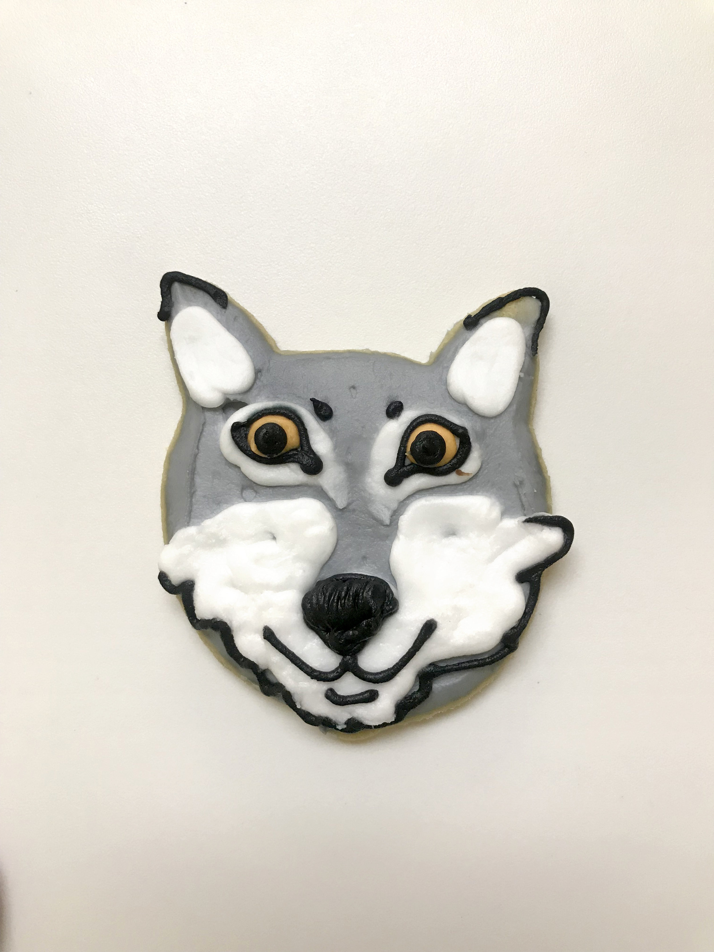Wolf Cutout Cookie