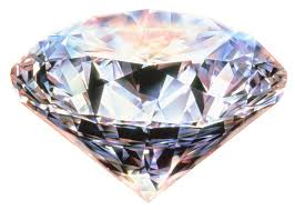 """...anything you can say about a diamond is in the nature of a flaw."""