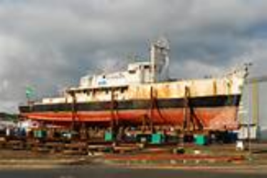 Past due on dry dock charges, pay up or...what?