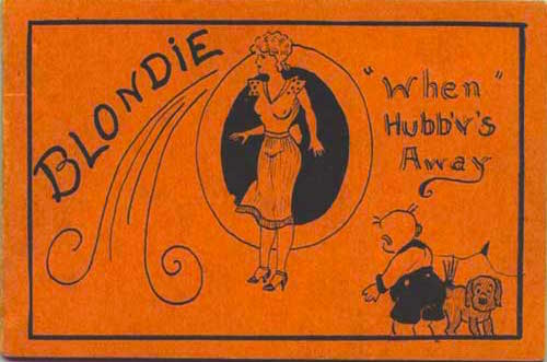 """""""That's not MY Blondie. And the lettering is no good."""""""