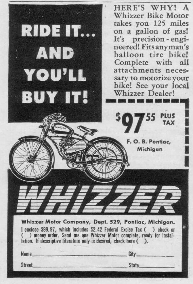 The gateway drug to motorcycles…