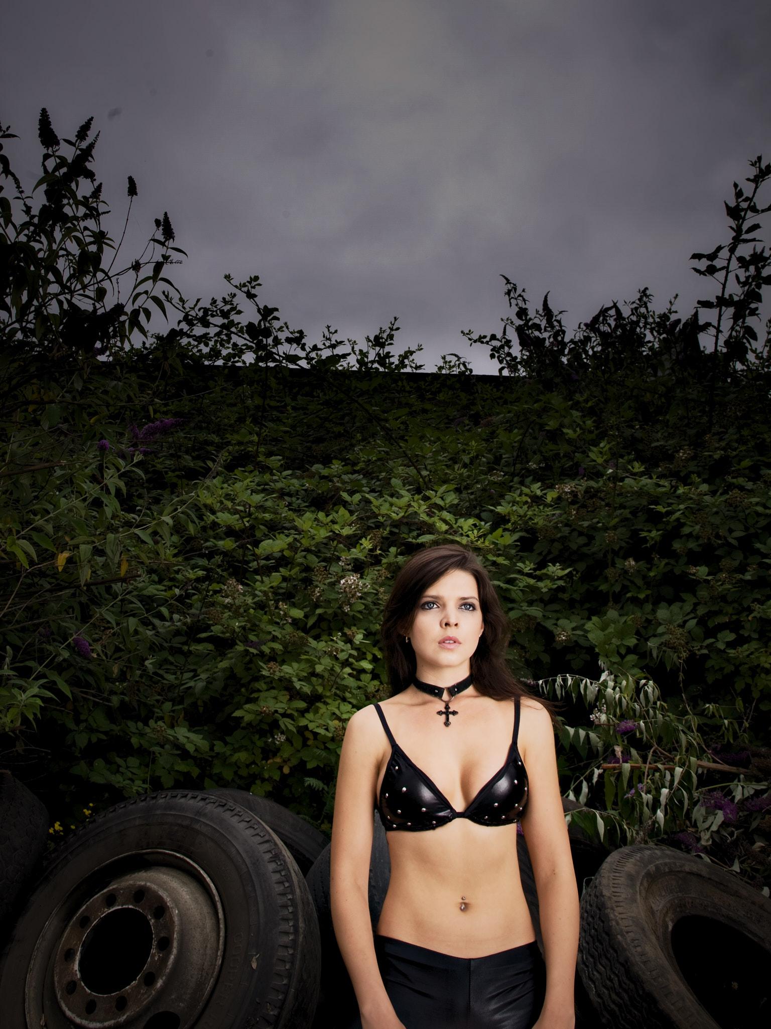 Christie w Tires Outside.jpg