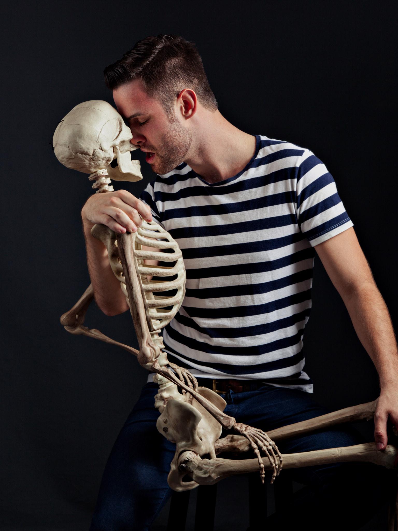Paul w Skeleton.jpg