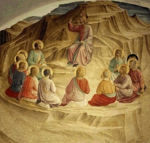 The Sermon on the Mount by Fra Angelico
