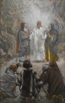 The Transfiguration of Jesus by James Tissot