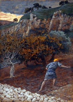 The Enemy Who Sows  by James Tissot