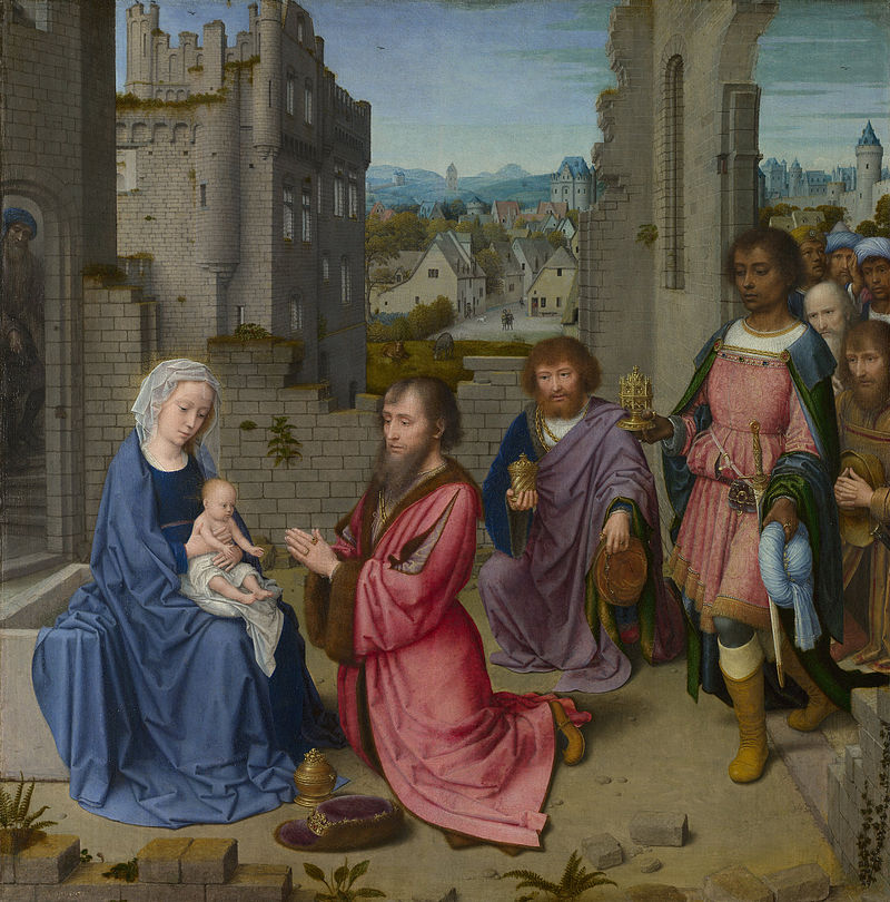 Gerard David,  The Adoration of the Kings