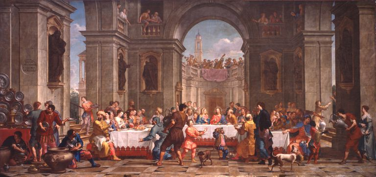 Bartolo Litterini,  The Wedding at Cana