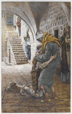 The Prodigal Son  by James Tissot