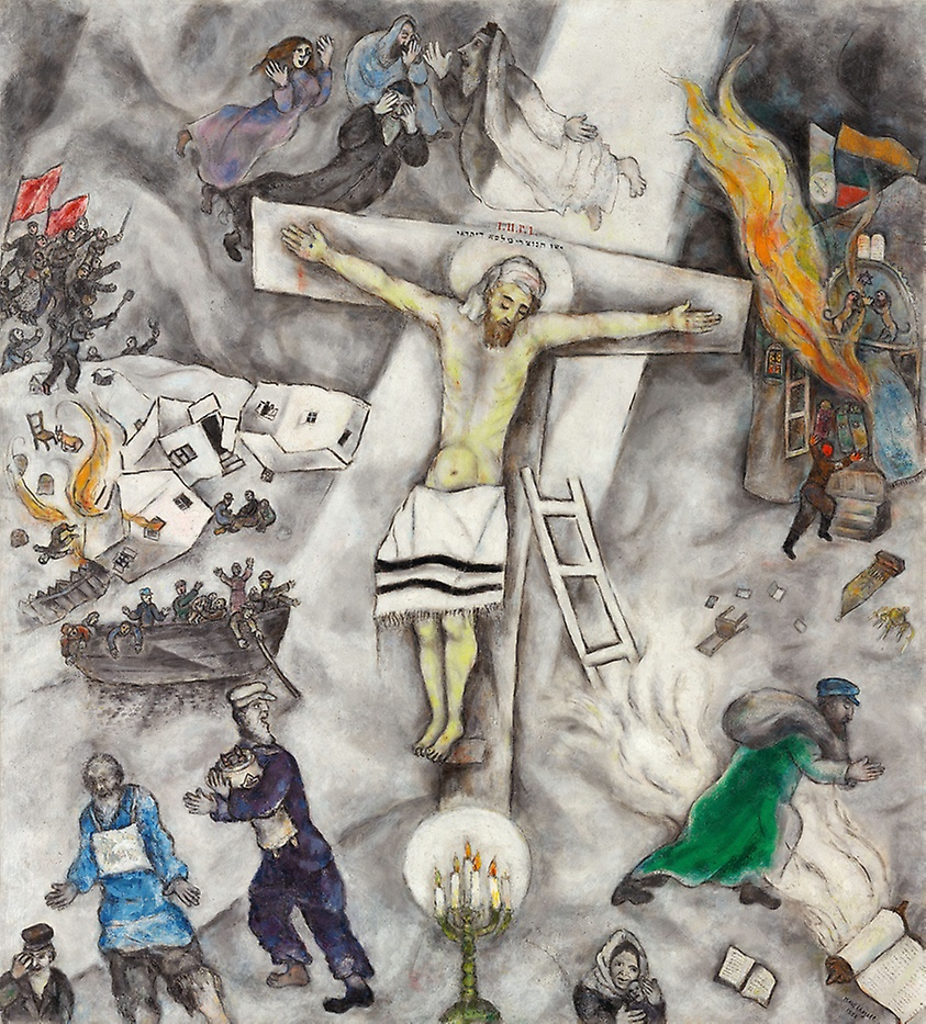 Marc Chagall,  White Crucifixion