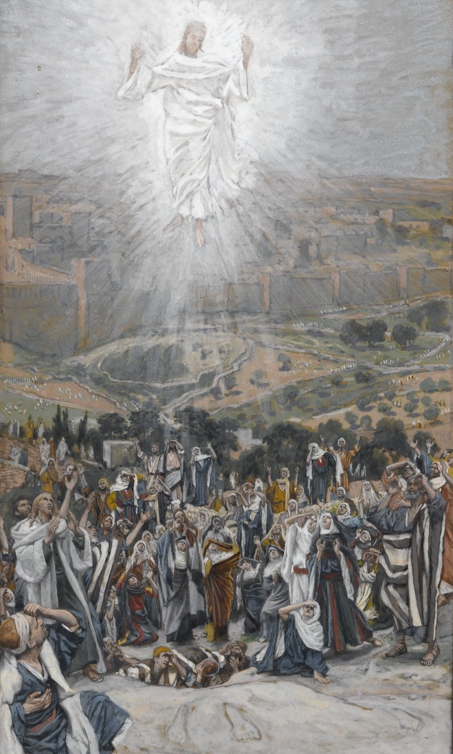 James Tissot,  The Ascension
