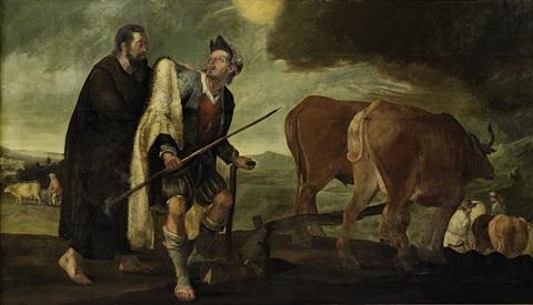 Abraham Bloemaert,  Elijah and Elisha,  ca. 1651