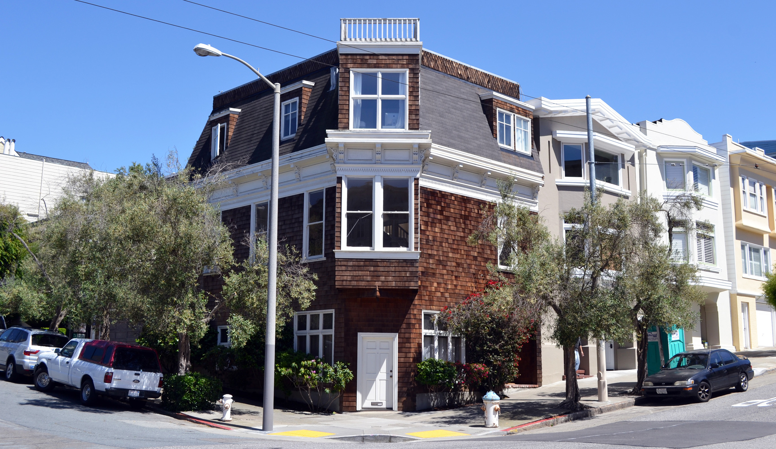 Cow Hollow, San Francisco  $600K 2nd Private Money Refinance on duplex.