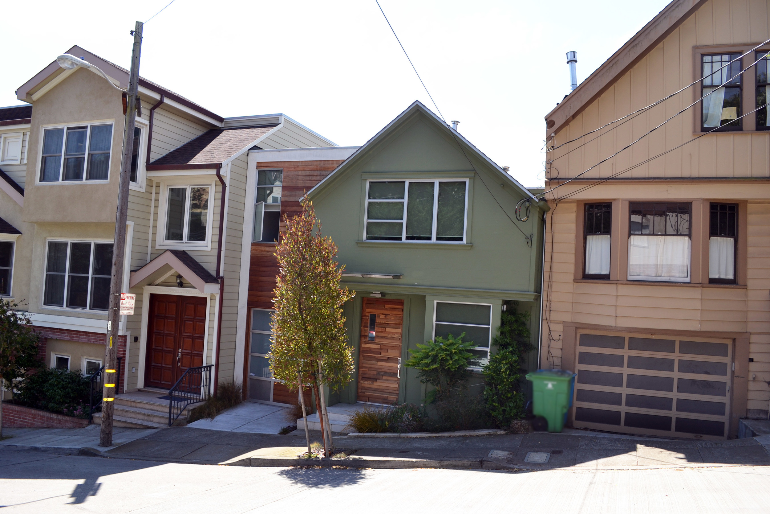 Noe Valley, San Francisco  $1.1M acquisition and construction loan for spec home. Property sold for $2.3M upon completion.