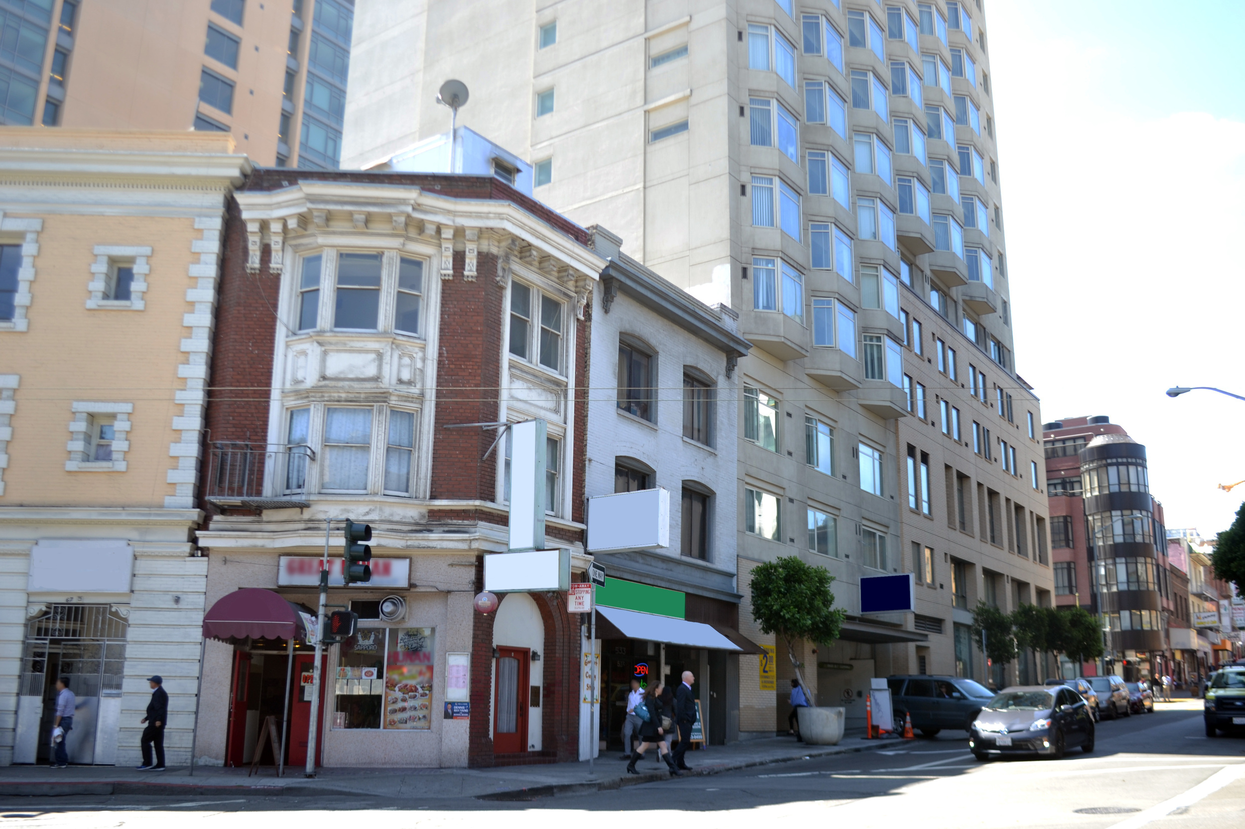 San Francisco - Financial District  $1,000,000 1st Trust Deed loan for purchase of a mixed-use building