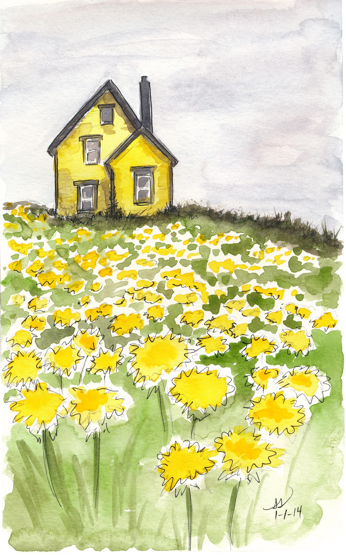 drawingsarah.com_yellowhouse.jpg