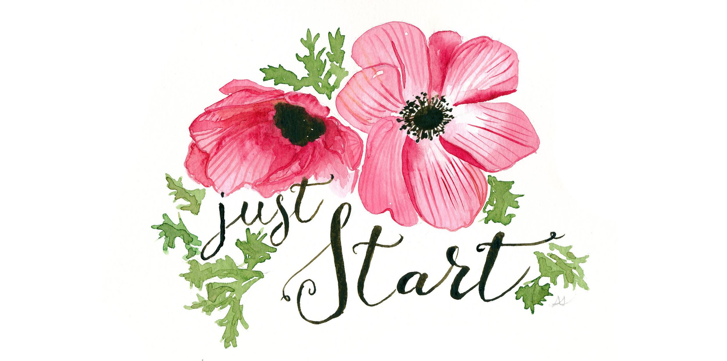 drawingsarah.com | Just Start!