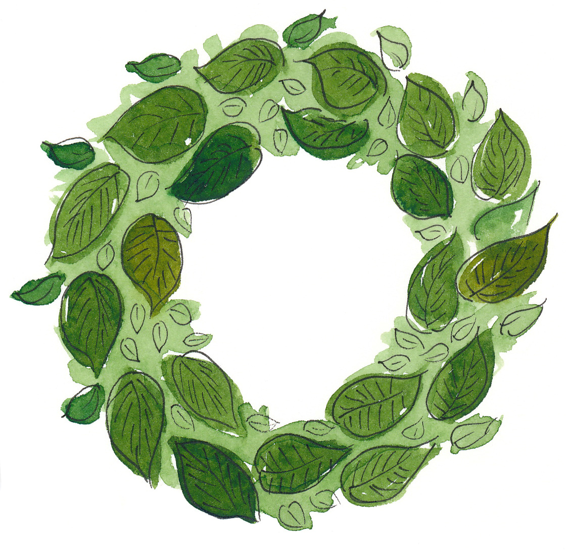 drawingsarah-wreath4