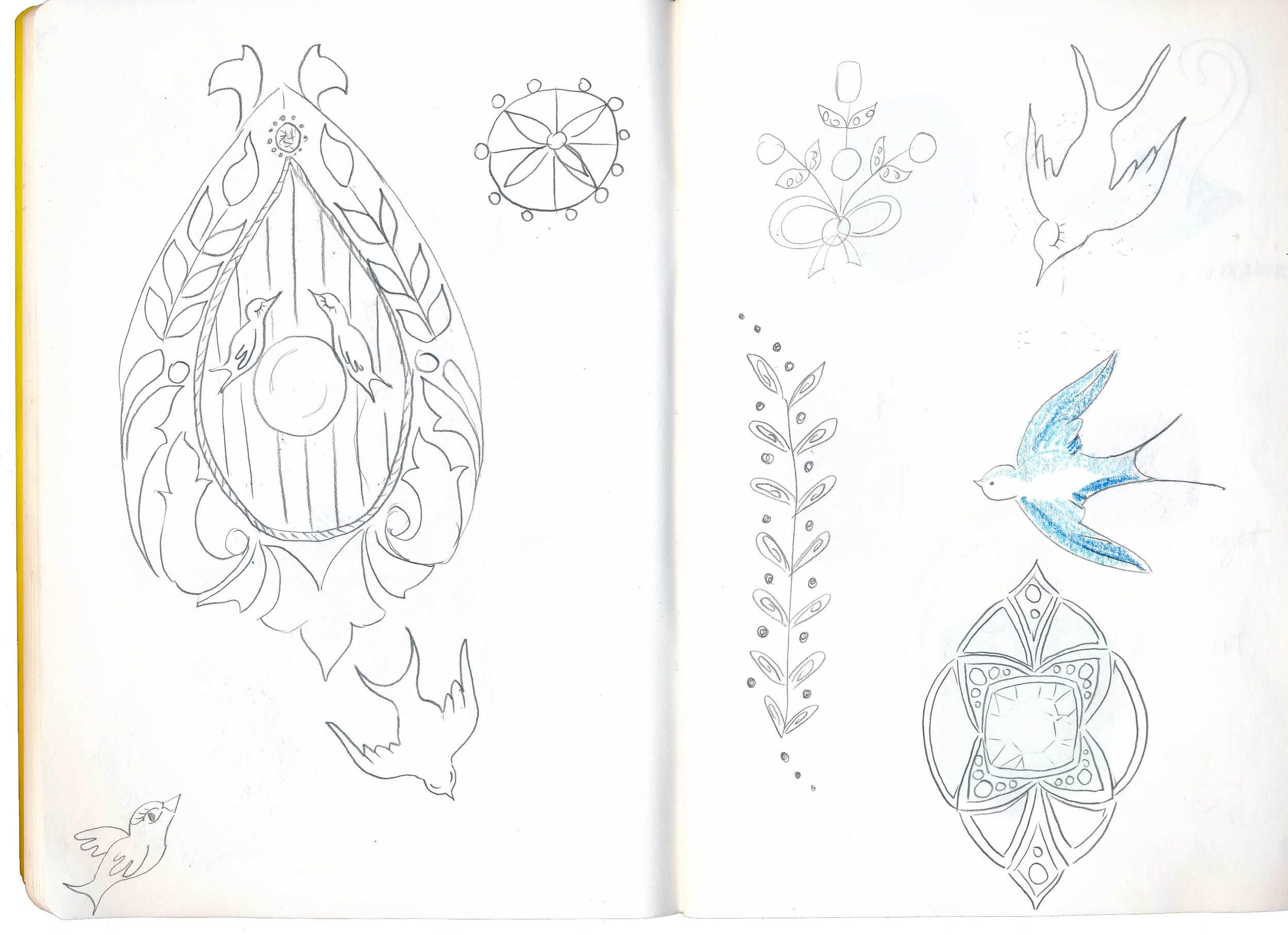 drawingsarah.com | MATS sketches