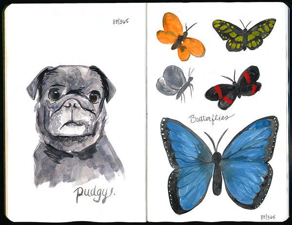 drawingsarah.com   88/365 and 89/365