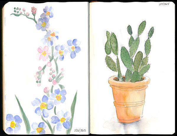 drawingsarah.com | 106/365 and 107/365