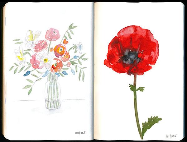 drawingsarah.com | 110/365 and 111/365
