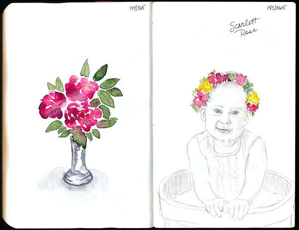 drawingsarah.com | 144/365 & 145/365