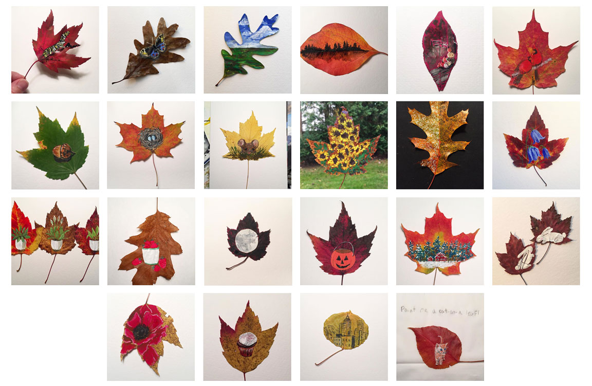 drawingsarah.com_leaf_paintings