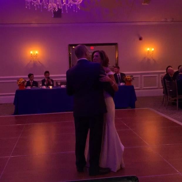 Congratulations Patty and Chad! @laurel_creek @centerstageent #njwedding