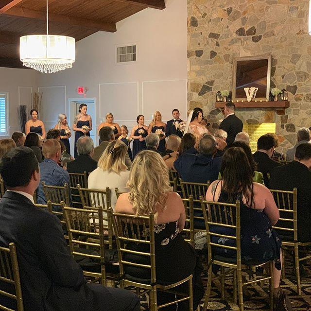 Another fun wedding in the books! @centerstageent @sensationalhost @marian_house_events #greekwedding #njweddingvenue #njweddingdj