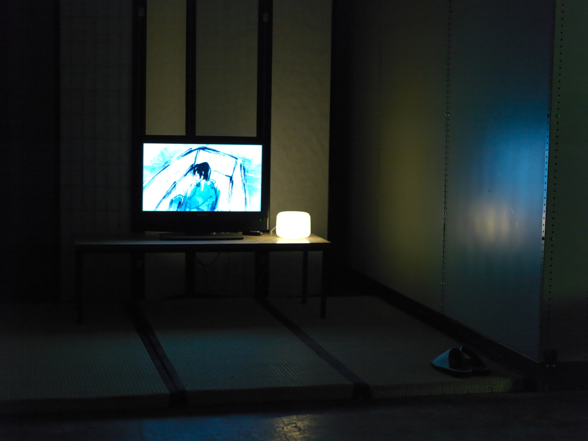 View of animation by Keiko Shiraishi