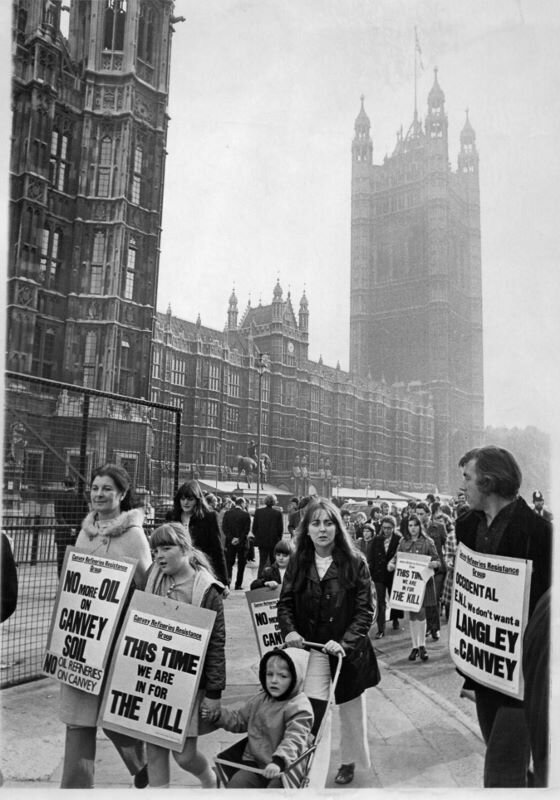 The protest is taken to Parliament. (Echo Newsapers).jpg