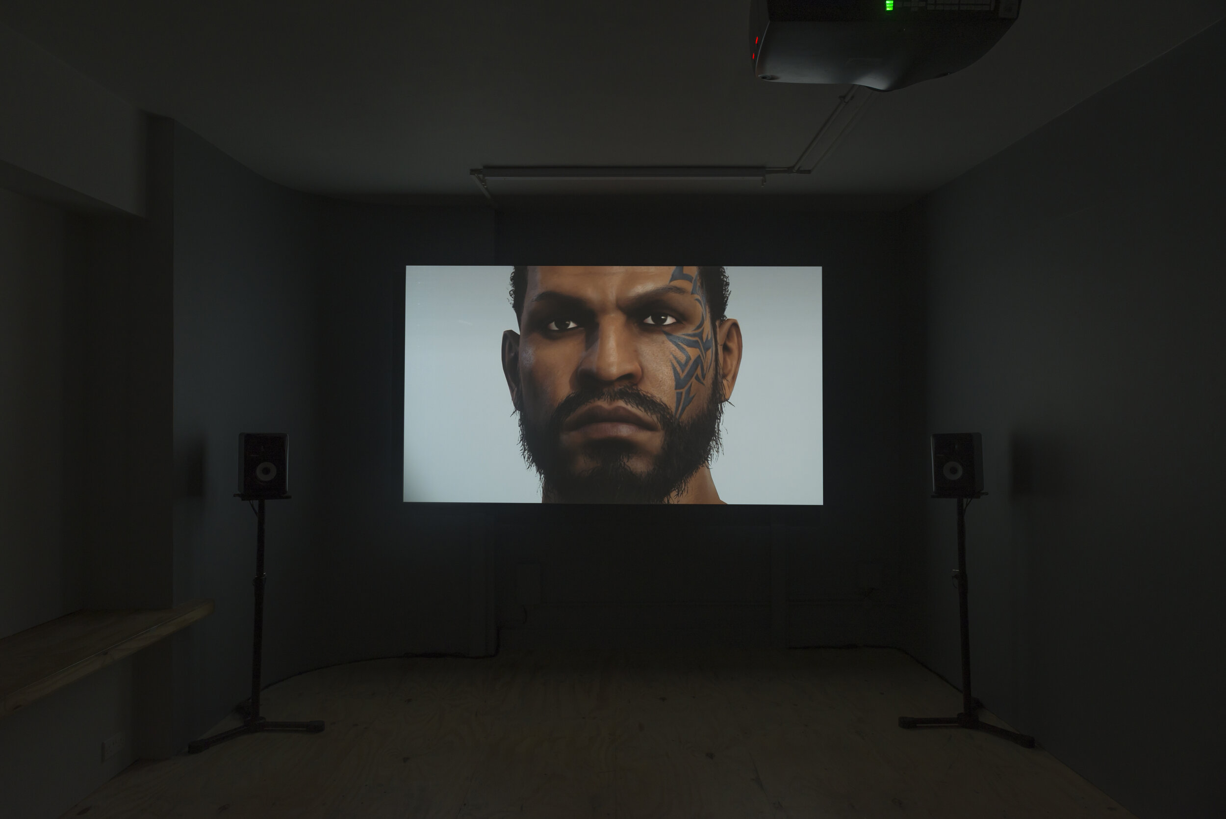"""""""A Terrible Fiction"""", 2019, Larry Achiampong & David Blandy are represented by  Copperfield  &  Seventeen , Image: Installation at Arts Catalyst, London, Courtesy: Arts Catalyst"""