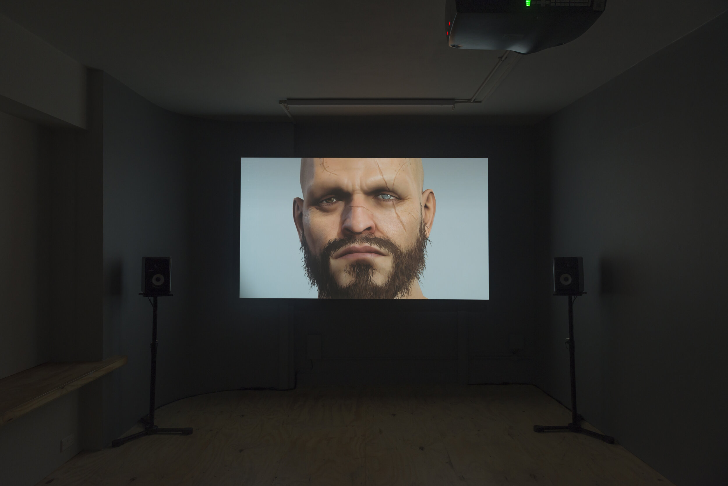 Press image 3 Larry Achiampong & David Blandy-Genetic Automata_2019_ installation view.jpg