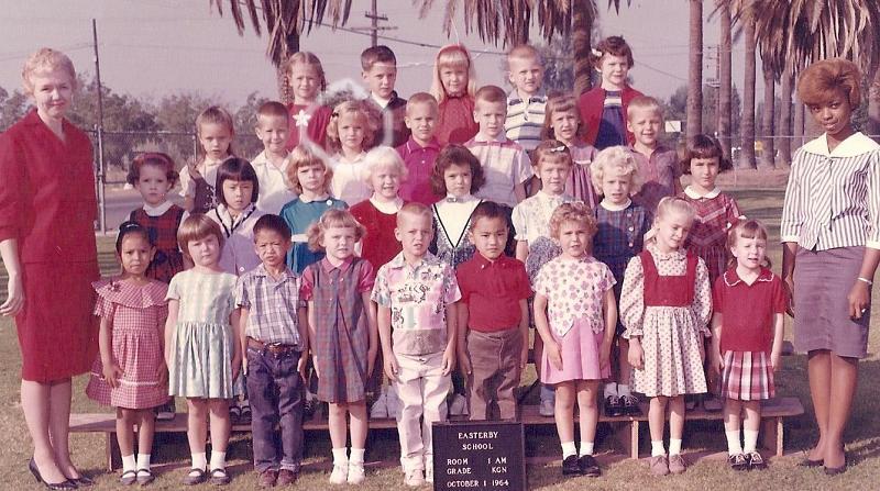 My kindergarten class 1963