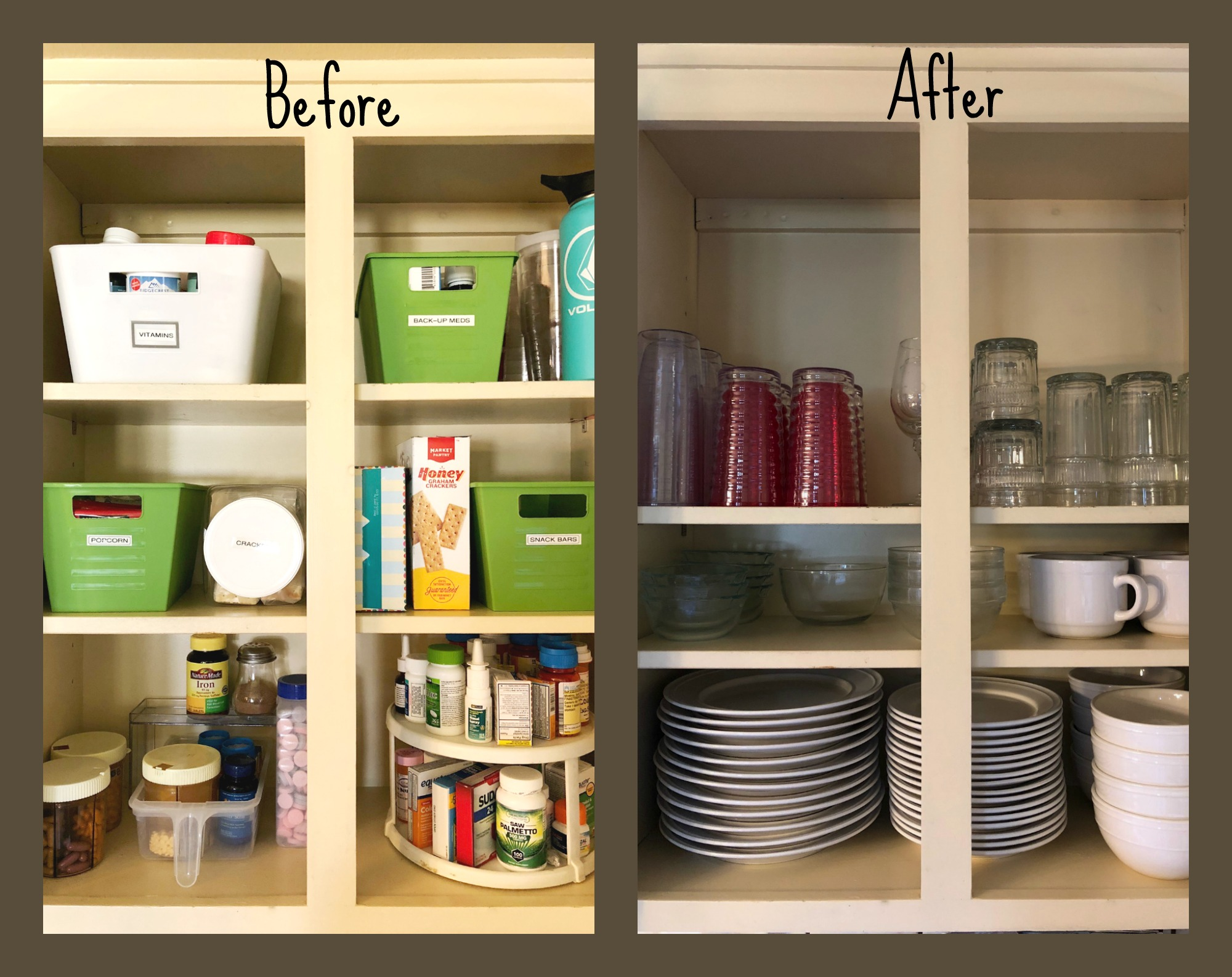 Not your typical  before & after , read on…