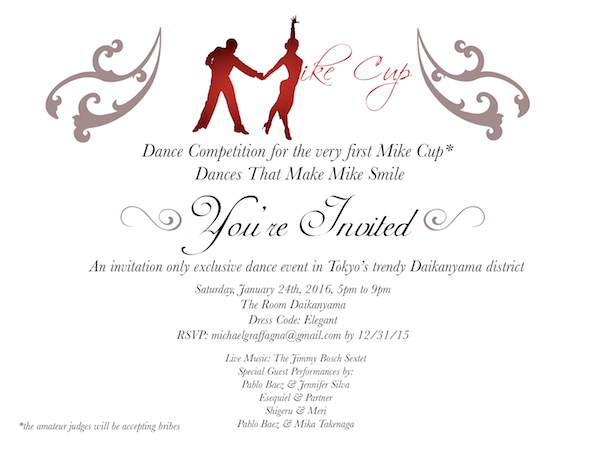 Invitation to Mike Cup