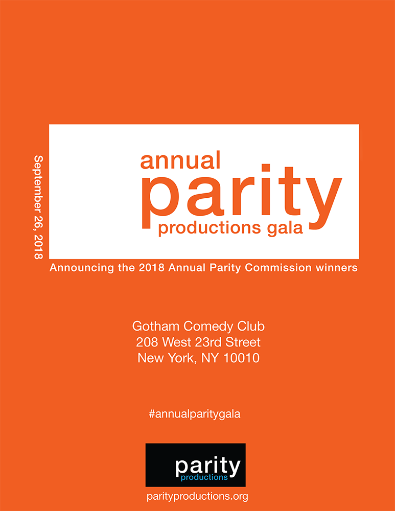 Annual Parity Productions Gala 2018 Journal