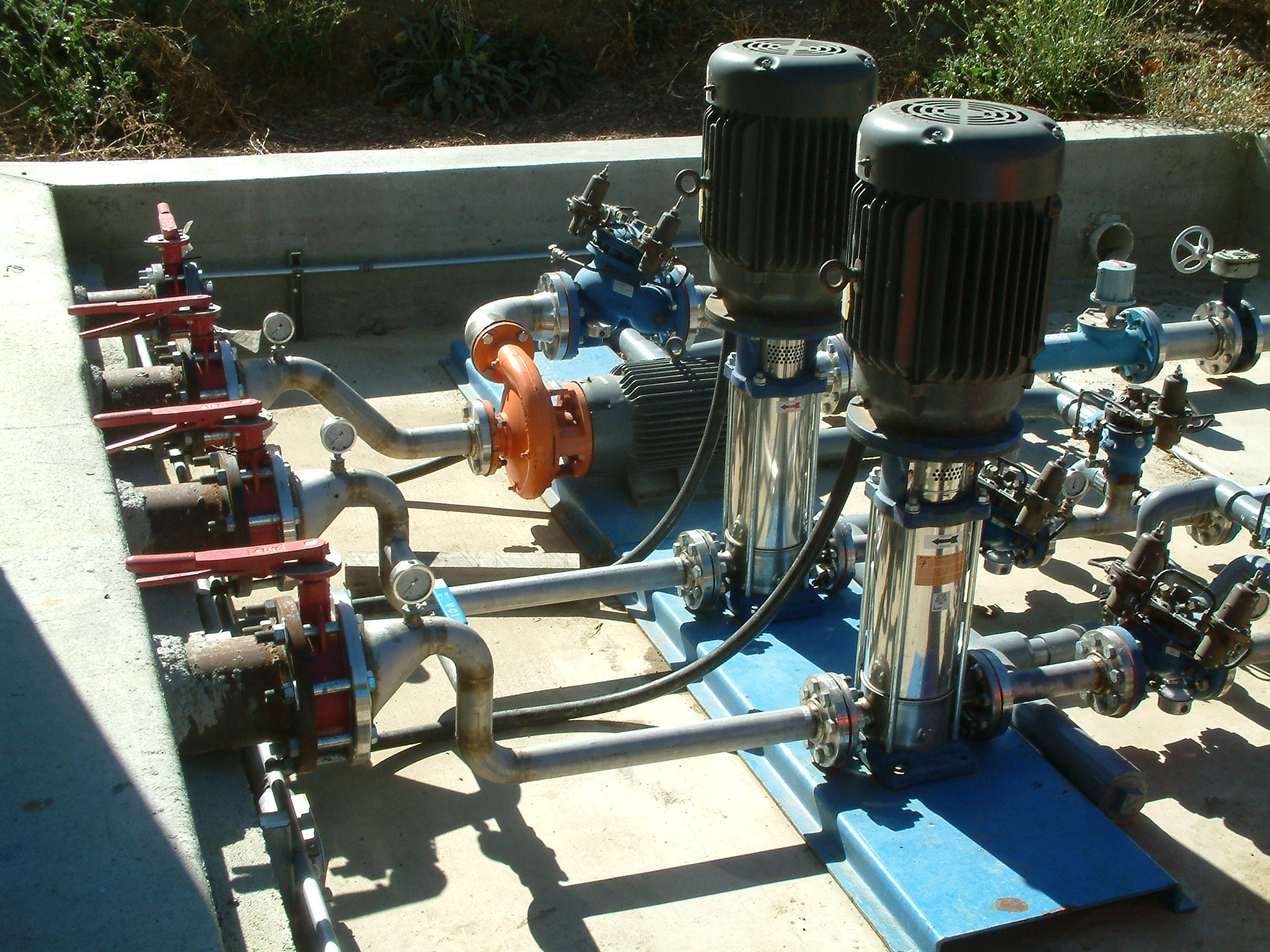 ultizone, high pressure irrigation pump system.