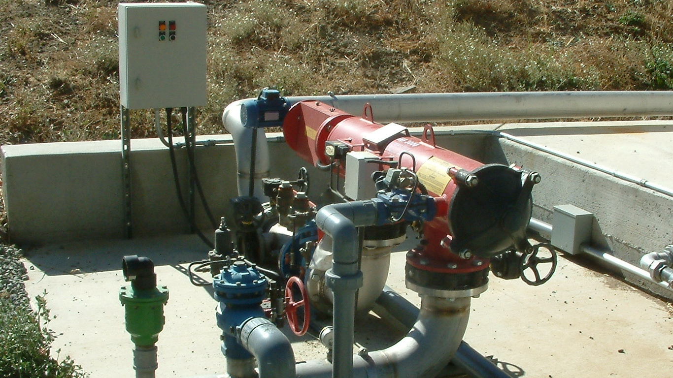 Automatic Irrigation Filtration System