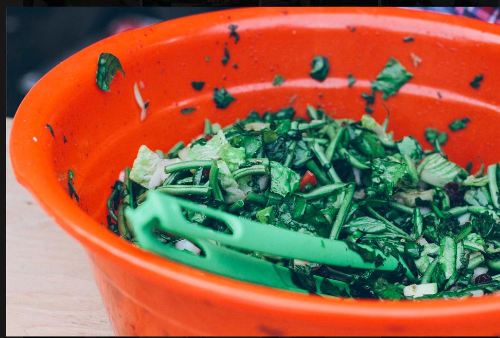 Maine Chopped Salad, Photo by Breanne Furlong